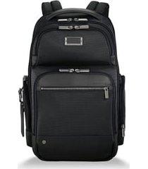 briggs & riley @work medium cargo backpack - black