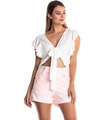 conjunto blusa y short-kolor latino-4719-rosado