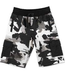 camouflage sweatshorts