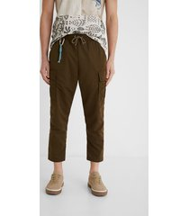 cargo trousers keyring - green - 38