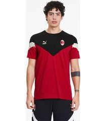 ac milan iconisch mcs t-shirt voor heren, rood, maat m   puma