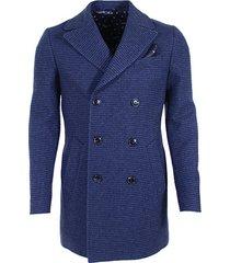 cavallaro donkerblauwe coat