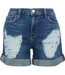 l'agence denim shorts