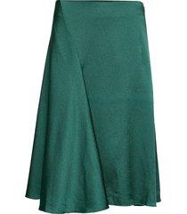 eva skirt 11163 knälång kjol grön samsøe samsøe