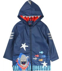 chaqueta impermeable must have azul ficcus