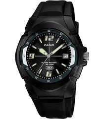 reloj casio mw_600f_1av negro resina