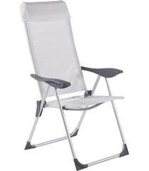cadeira de praia bel lazer alumínio 5 posições