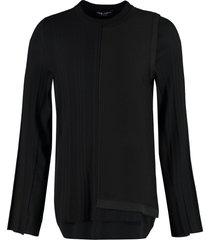 dolce & gabbana silk and wool sweater