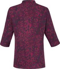 blouse met 3/4-mouwen van anna aura roze