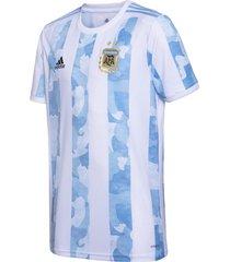 camiseta blanca adidas titular selección argentina 2021