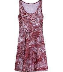 vestido m/s marmolado color vino, talla 4