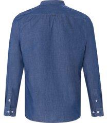 jeansoverhemd in 100% katoen van maerz muenchen denim