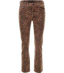 alexander wang leopard printed jeans