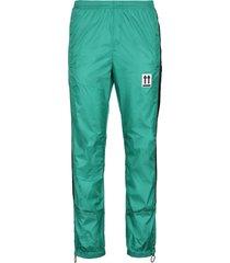 off-white logo detail nylon track-pants