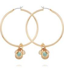 nanette nanette lepore charm hoop earring