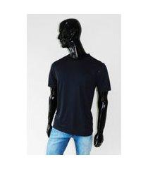 camiseta individual premium listra azul tam. g