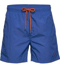 cf swim shorts badshorts blå gant