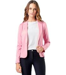blazer malha mx fashion pandora rosa