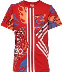 jepepe t-shirts short-sleeved rood kenzo