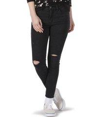 pantalon mujer wm skinny 9 negro vans