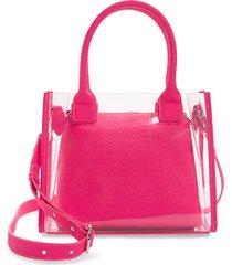 bp. transparent tote - pink