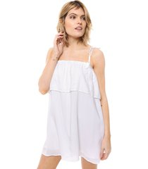 vestido  blanco wanama love someone