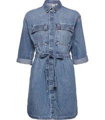 ainsley utility denim d freaky dresses shirt dresses blå levi´s women