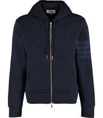 thom browne full zip hoodie