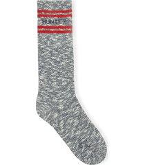 original branded college mouline short socks
