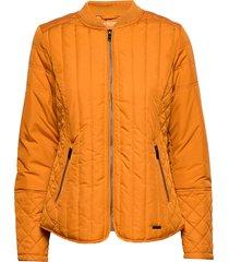 quilt jacket kviltad jacka orange ilse jacobsen