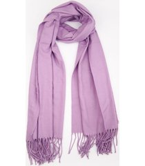 bufanda lila donadonna