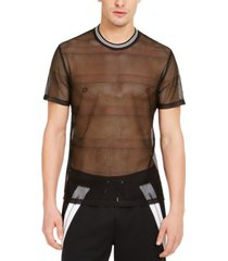 inc men's sheer mesh t-shirt, created for macy's