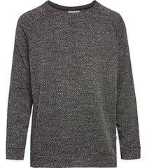 dave speckle knit raglan-sleeve sweatshirt