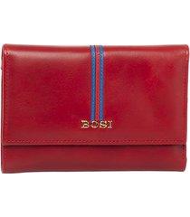 billetera glynna rojo bosi