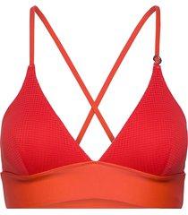 iconic bikini top bikinitop röd casall