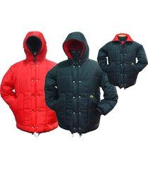 jaqueta dupla face polar térmica black red acampar