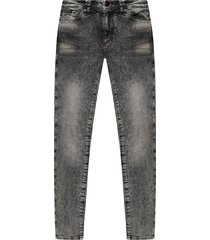 jeans with worn effect