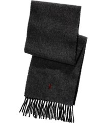 polo ralph lauren men's reversible cold weather scarf
