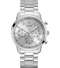 reloj guess hombre hendrix/gw0066g1 - plateado