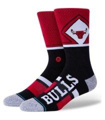 stance men's chicago bulls shortcut 2 crew socks