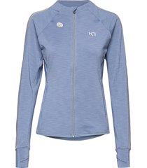 marit midlayer sweat-shirts & hoodies fleeces & midlayers blå kari traa
