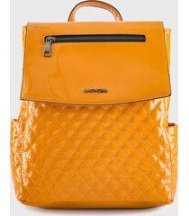 mochila amarillo amphora