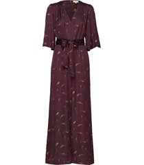 satin jumpsuit jumpsuit rood by ti mo