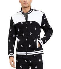 inc men's skull track jacket, created for macy's