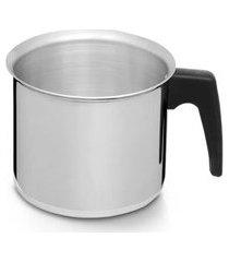 caneca leiteira criativa alumínio polido n.14 nigro