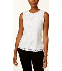 kasper lace top