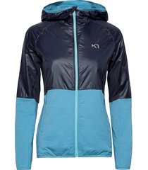 svala hybrid outerwear sport jackets blå kari traa