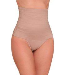 calcinha vip lingerie cinta modeladora zero barriga bege