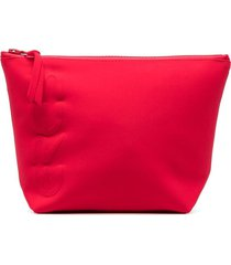 eres logo embroidered cosmetic bag