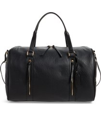 sole society garyn faux leather duffle bag -